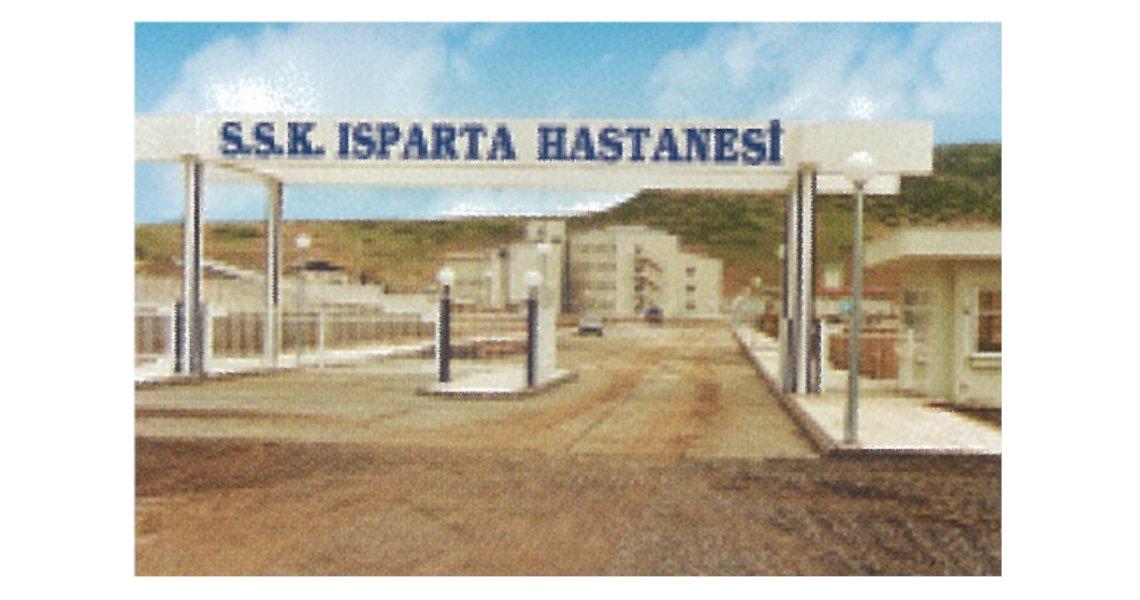 Isparta 200 Bed Hospital – ÖZVER İNŞAAT A Ş